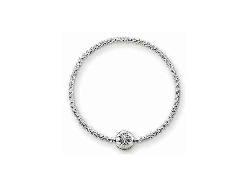 Product standard ka0001 001 12 l18 thomas sabo silver karma bracelet 18cm