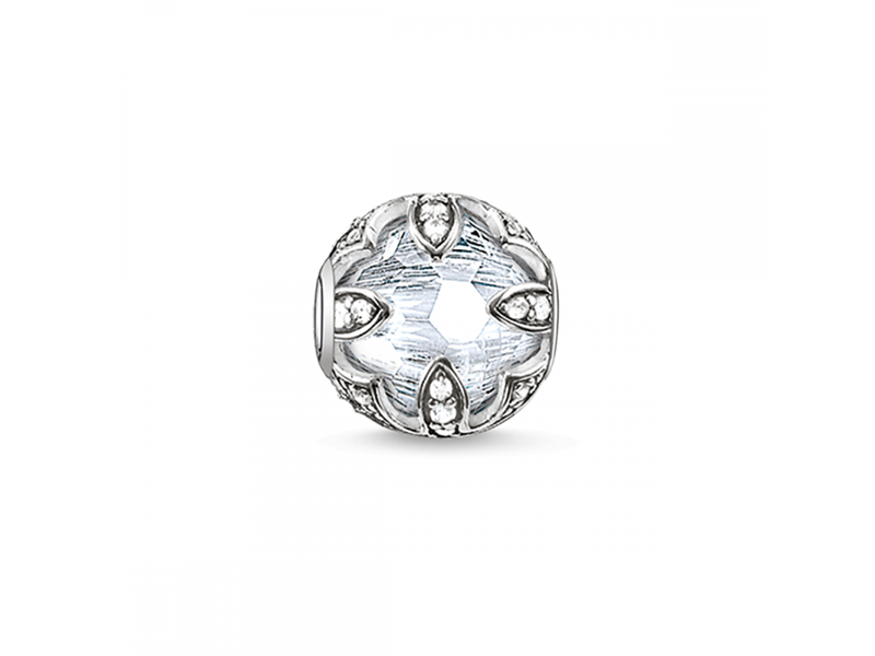 Product standard k0093 643 14 thomas sabo silver white lotus bead