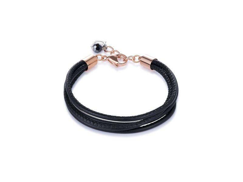 Product standard 0219 30 1300   coeur de lion   black  bracelets   stainless steel   4250409698117
