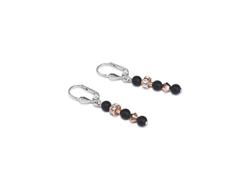 Product standard 4912 20 1300   coeur de lion   black  pierced  earrings   stainless steel   4250409699770