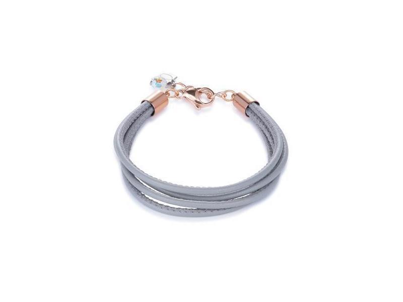 Product standard 0219 30 1220   coeur de lion   light  grey  bracelets   stainless steel   4250409698100
