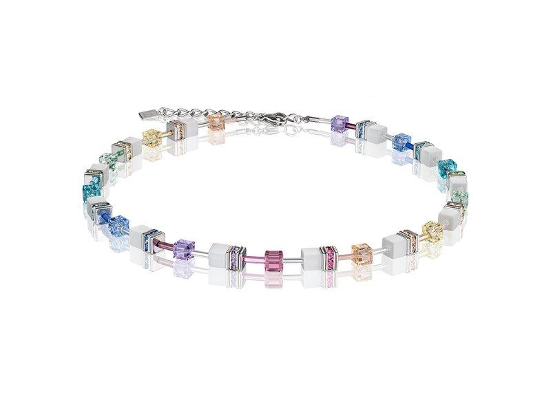 Product standard 2838 10 1552   coeur de lion   multicolour  pastel white necklaces   stainless steel   4250409678485