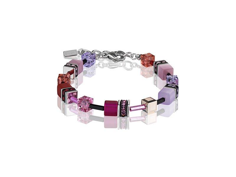 Product standard 2838 30 0325   coeur de lion   multicolour  red rose  bracelets   stainless steel   4250409686930